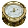 Барометр круглый полированная латунь ART 4096 Barometer, brass polished, lacquered