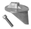 Анод-триммер универсальный сплав алюм. ART 4182 Aluminium trim tab anode