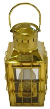 Керосиновая лампа ART 4197 Brass petroleum cabin light