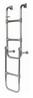 Трап раскладной 4(5) ступеней ART 4271 HECKLEITER, KLAPPBAR, 4(5)-STUFIG