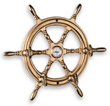 Ключница-штурвал с компасом ART 5014 Helm key board