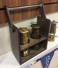 Деревянный ящик для переноски ламп Благодатного Огня ART 5409