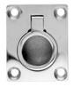 Ручка потайная с кольцом квадратная ART 8241 Small flush lifting pull