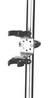 Держатель спасательного огня с вертикальным креплением на трубу 22/25 ART 8580 Marker light mounting bracket