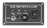 Панель аварийной сигнализации 115x64 с выключателем ART 8682 Bilge alarm