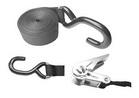Стропа c нержавеющим крюком и натяжителем ART 8824 Fixing belts with ratchet