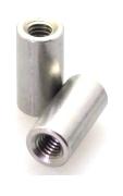 Втулка резьбовая круглая ART 9070 Round coupler nuts - Stainless steel